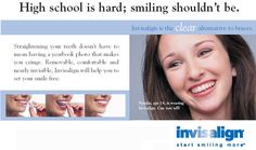 We offer Invisalign Teen - Straight teeth without the braces!