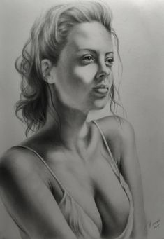 charming girl by sergejbag on DeviantArt Pencil Drawing Images, Pencil Drawings Of Girls, Realistic Pencil Drawings, Sexy Drawings, Art Drawings Sketches, Art Reference Poses, Woman Drawing, Black And White Sketches, Art Model
