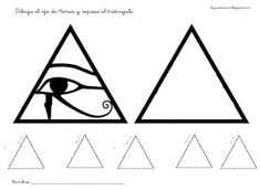 RECURSOS DE EDUCACIÓN INFANTIL: FICHAS SOBRE EGIPTO Kids Education, Symbols, Peace, Projects, Cards, Child, World, Transportation Unit, Eye Of Horus