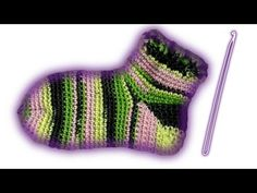 Crochet Socks Toe Up 63 Ideas Cable Knit Socks, Crochet Poncho, Crochet Slippers, Knitting Socks, Quick Crochet, Tunisian Crochet, Crochet Baby, Free Crochet, Socks And Heels
