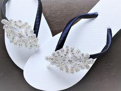 64ddc0c46badc 166 Best #Bridal Flip Flops images in 2019 | Bridal flip flops ...
