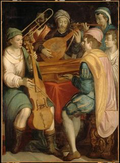 Concert. 2nd half of 16th century. Florentine School