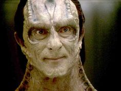 Another amazing actor, in a series where there are so many. Gul Dukat.......evil and wonderful!