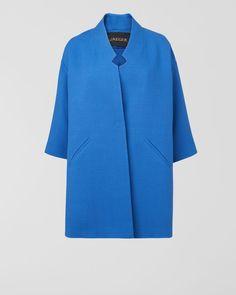 Dropped Sleeve Coat