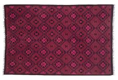 """6'4""""x9'9"""" Ramona Flat-Weave Rug, Pink on OneKingsLane.com"""