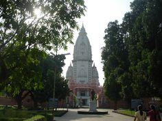 New Vishwanath Temple, Benaras Hindu University, Varanasi, Uttar Pradesh India Architecture, Varanasi, Temple, University, Building, Nature, Travel, Naturaleza, Viajes