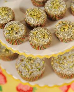 Brown Butter Pistachio and Poppy Seed Financiers | 53 Amazing Pistachio Desserts