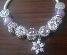 Pandora Purple Charms