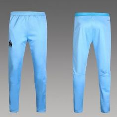 77b8a9297898 Marseille 2016-17 Season Blue UCL Long Pants  I837  Long Pants