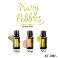 You will love the sweet and refreshing aroma associated with this Fruity Pebbles diffuser blend. Give it a try and let us know what you think!