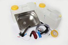 WOW Mini Kitchen Camping Kitchen block kit sink 325x265x100mm London Action