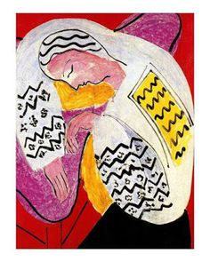 Carole's Chatter: The Dream by Henri Matisse Henri Matisse, Matisse Art, Matisse Prints, Canvas Artwork, Framed Artwork, Oil On Canvas, Picasso Paintings, Matisse Paintings, Clowns