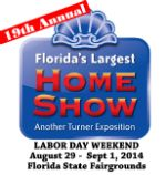 The big one, Florida's Largest Labor Day Home Show, is coming up August 29 - Sept. 1. Four days of ideas, information and inspiration for your home, at the Florida State Fairgrounds in Tampa. www.bighomeshow.com #flhomeshow #flstatefairgrounds #thebigone