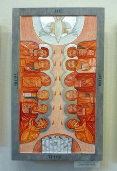 Pentecost contemporary icon