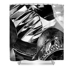 """Auto Headlight 162 Shower Curtain   $65 at http://fineartamerica.com/products/auto-headlight-162-sarah-loft-shower-curtain.html  This shower curtain is made from 100% polyester fabric and includes 12 holes at the top of the curtain for simple hanging. The total dimensions of the shower curtain are 71"""" wide x 74"""" tall."""