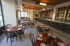 """New Restaurant Alert! I don't usually cover new restaurants, unless, you guessed it, I dig the decor. The uptown offshoot of """"East Village American comfort food/bistro spotThe Smith…"""