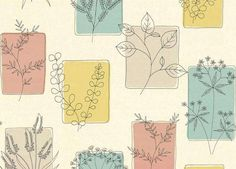 Ideas plants doodle wallpaper for 2019 Watercolor Flowers, Watercolor Paintings, Drawing Flowers, Line Drawings Of Flowers, Watercolour, Leaf Drawing, Illustration Art, Illustrations, Illustration Techniques