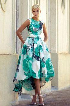 Vestidos de fiesta 2017 para bodas, ideales para invitadas de ceremonia. Los vestidos cortos triunfan en bodas de mañana y los largos en ceremonias de noche.