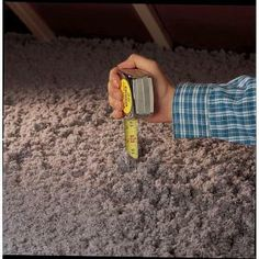 Cellulose Blow-in Fiber Insulation-INS541LD at The Home Depot. Rent a blower?