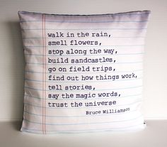 Poem Pillow