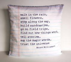 16x16 cushion decorative pillow POEM cushion, 40cm cushion cover Organic cotton,16inch cushion cover, 16x16 pillow, decorative pillow on Etsy, $49.78 CAD