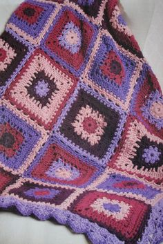 I made this for a friend last April.  I found the pattern in Crochet Today! Jan/Feb 2011 Edition