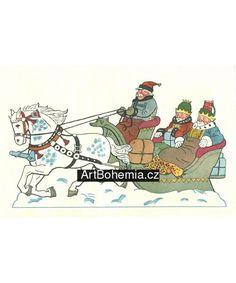 Artbohemia.cz, Josef Lada: Ladův Betlém Diagram, Map, Christmas, Decor, Nativity Scenes, Yule, Decoration, Xmas, Decorating