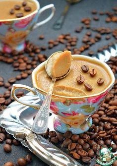 """Десерт """"Кофе по-баварски"""" - кулинарный рецепт Chocolate Coffee, Fun Desserts, I Foods, Sweet Tooth, Sweet Treats, Food And Drink, Favorite Recipes, Sweets, Baking"""