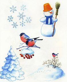 tél Winter Activities For Kids, Bring Up, Preschool Education, Pre School, Rooster, Snowman, Glass Art, Clip Art, Seasons