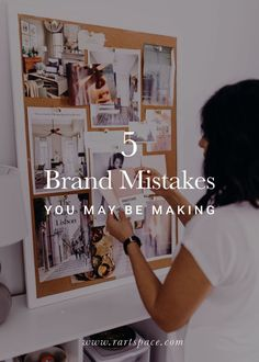 Branding has the power to transform your business, it can reach your potential customers, and it can build one of the most essential aspects of your business. But, many people make these 5 common branding mistakes. Being an entrepreneur can tough, but branding and design doesn't have to be! #smallbusinesstips #businessideas #marketingstrategy #marketingtips #entrepreneur #seomarketing #businessstrategy