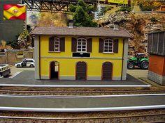 Ferrocarriles españoles. Compañía privada. Escala H0m.