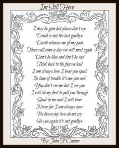 Death is not the last goodbye Miss Mom, Miss You Dad, In Loving Memory Quotes, Letter From Heaven, Images Noêl Vintages, The Last Goodbye, Grief Poems, Son Poems, Sympathy Quotes