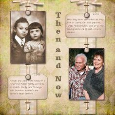 Musings of a Genealogy-Nut: Some More New Heritage Scrapbook Pages #memoriesscrapbook
