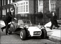 The Catterham 7 gained notoriety in 60s cult TV series, The Prisoner, where it was driven through London at the start of each episode by the shows star, Patrick McGoohan.