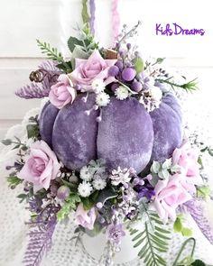Velvet Pumpkins, Fabric Pumpkins, Fall Pumpkins, Autumn Decorating, Pumpkin Decorating, Fall Decor, Fall Halloween, Halloween Crafts, Lavender Crafts