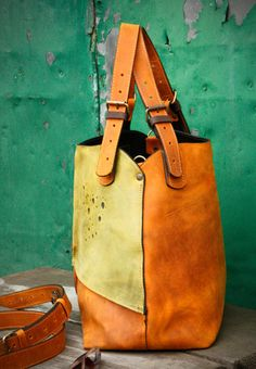 0d1150aed905 Oversized leather Bag Alicja whiskey shoulder bag leather hobo bag oversize leather  bag natural leather bag vintage leather bag unique
