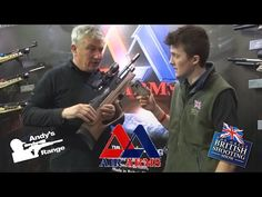 Brand NEW Air Arms Galahad bullpup first look - The great British Shooting Show 2016 - YouTube