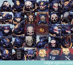 Night Lord's Mask designs