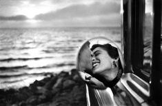 Available for sale from A Gallery for Fine Photography, Elliott Erwitt, California, Santa Monica, Kiss (1955), Silver Gelatin, 16 × 20 in