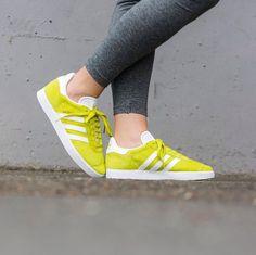 Sneakers femme - Adidas Gazelle Lemon (©43einhalb)