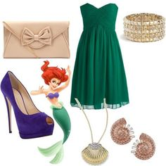How To Dress Like Disney Princess Characters For Prom Dresses, Outfits Disney Prom Dresses, Disney Dress Up, Princess Prom Dresses, Homecoming Dresses, Disney Clothes, Disney Character Outfits, Disney Princess Outfits, Disney Themed Outfits, Disney Princesses