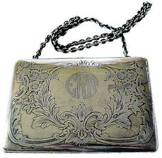 Vintage Metal Bag from the 1900s.