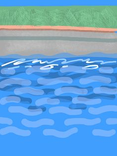 Pool 3 by Thomas Richard Berry, via Flickr Brushes, Berry, Paintings, App, Explore, Outdoor Decor, Home Decor, Decoration Home, Paint