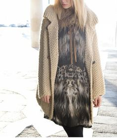 Summum Fur Coat, Leiden, Jackets, Campaign, Woman, Fall, Prints, Style, Fashion