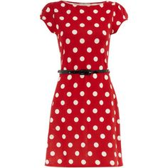 Just a fabulous red spotted dress. Reminds me of Minnie Mouse!