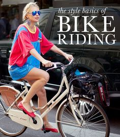 12 Inspiring Outfit Ideas For Summer Bike Riding - i want this dress!