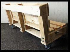 banca sillon de pallets tarima reciclada lounge