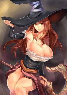 Sorceress by SuoniMac.deviantart.com on @deviantART