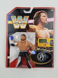 MATTEL WWE RETRO SERIES 3 AJ STYLES WRESTLING ACTION FIGURE MOC