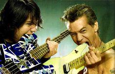 Wolfgang & Eddie Van Halen